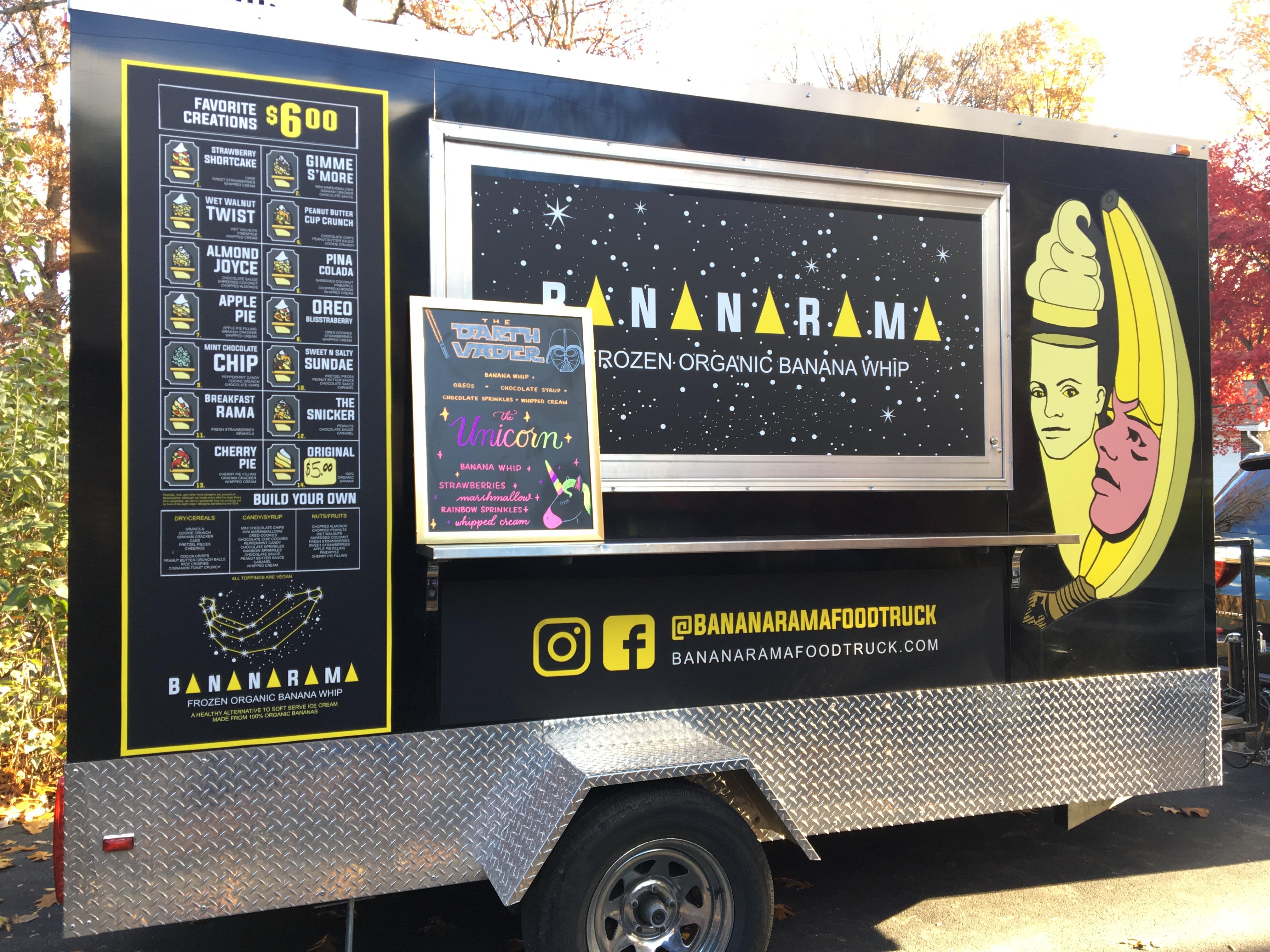 Front of Bananarama Truck